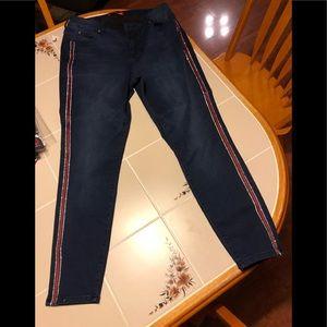 Jenifer Lopez skinny ankle jeans size  12